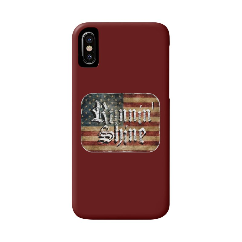 Runnin' Shine Flag Accessories Phone Case by Runnin' Shine Store