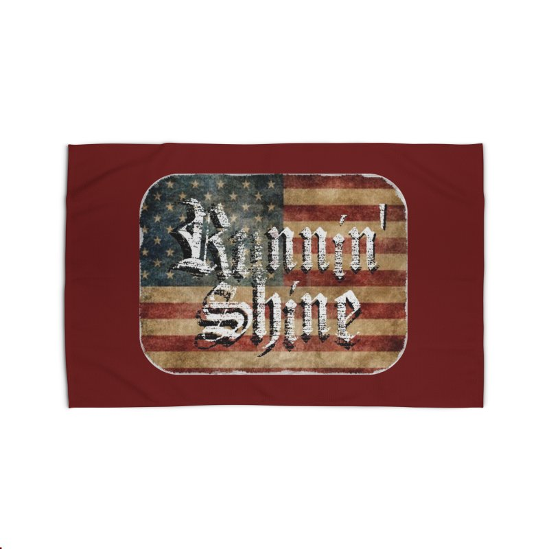 Runnin' Shine Flag Home Rug by Runnin' Shine Store