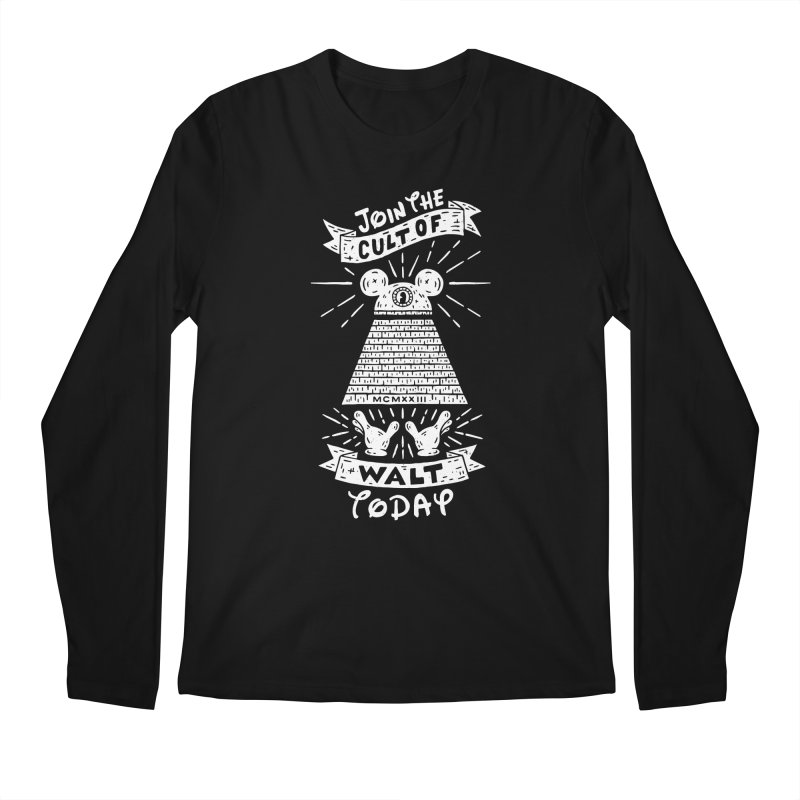 Join The Cult of Walt Today Men's Regular Longsleeve T-Shirt by Rupertbeard