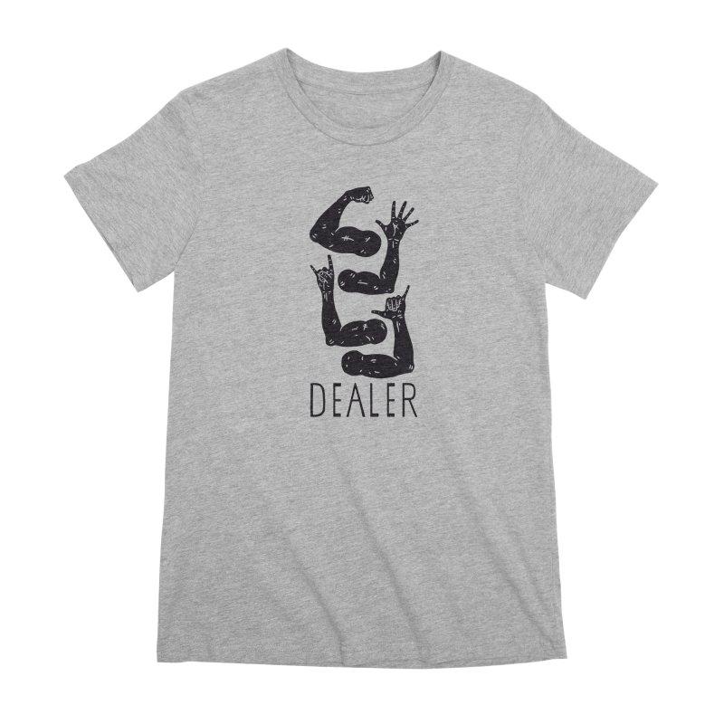 Arms Dealer Women's Premium T-Shirt by Rupertbeard