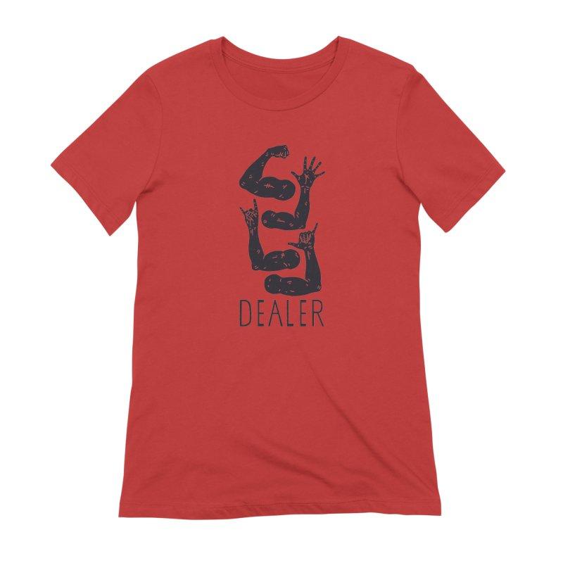 Arms Dealer Women's Extra Soft T-Shirt by Rupertbeard