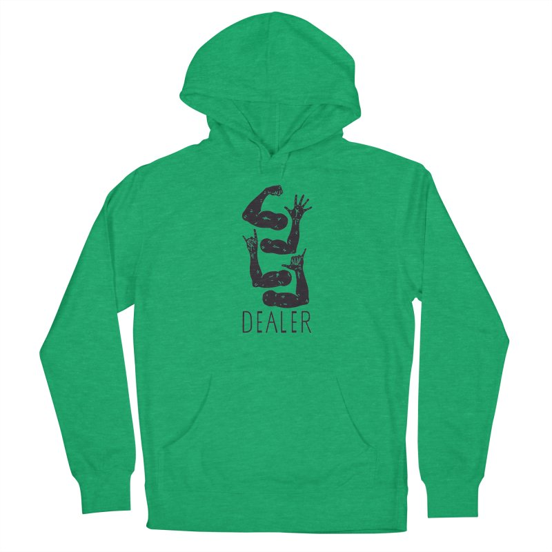 Arms Dealer Men's French Terry Pullover Hoody by Rupertbeard