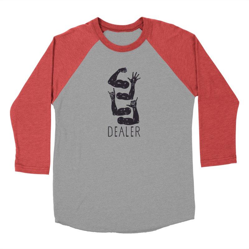 Arms Dealer Women's Baseball Triblend Longsleeve T-Shirt by Rupertbeard