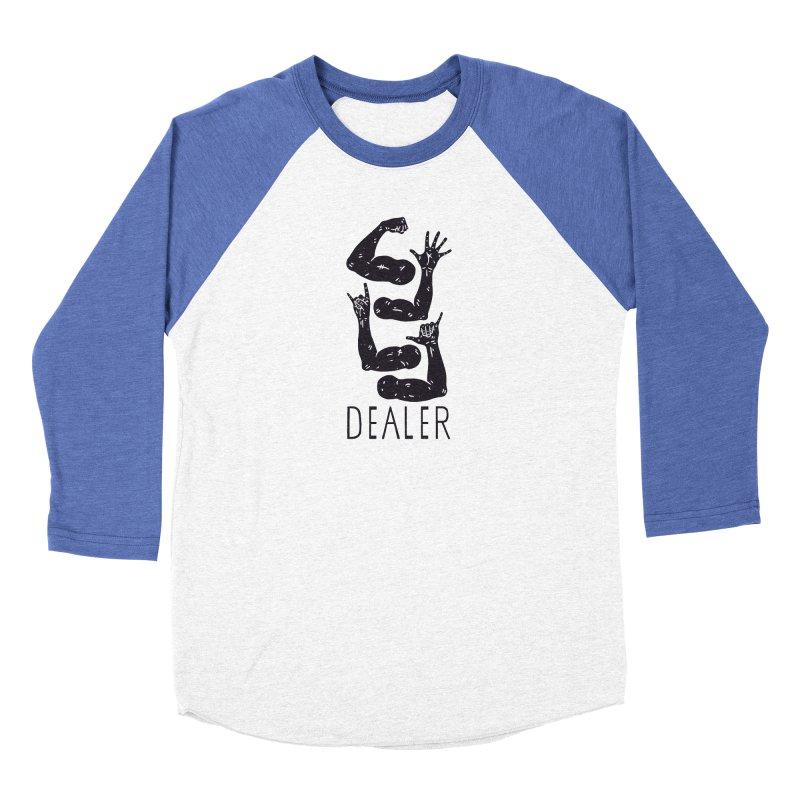Arms Dealer Men's Baseball Triblend Longsleeve T-Shirt by Rupertbeard