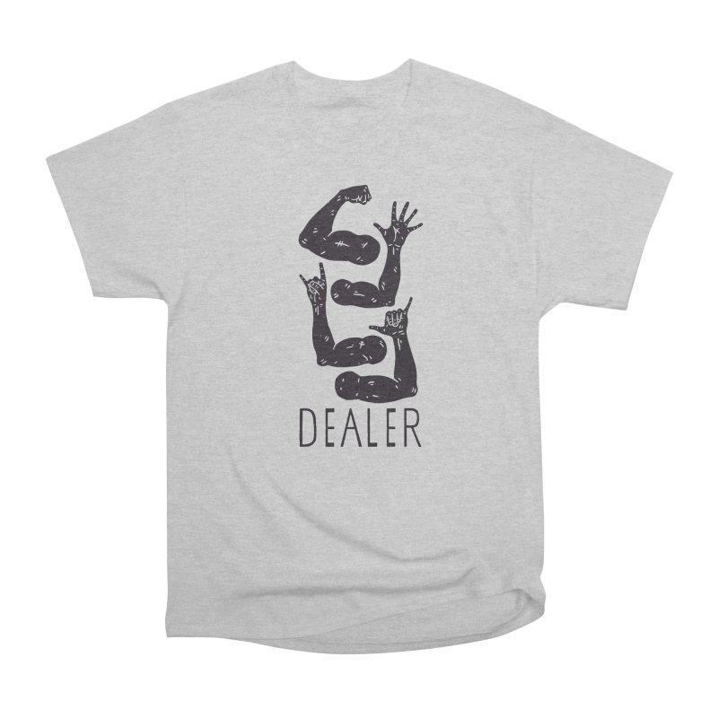 Arms Dealer Men's Heavyweight T-Shirt by Rupertbeard