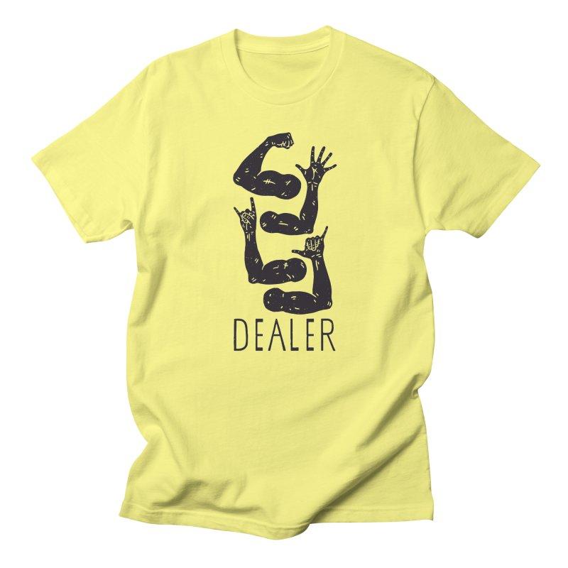 Arms Dealer Men's T-Shirt by Rupertbeard