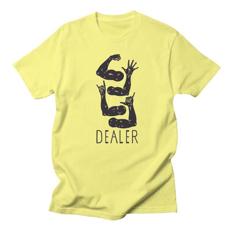 Arms Dealer Men's T-Shirt by Rupertbeard