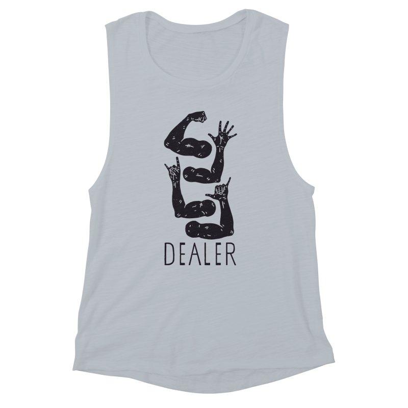 Arms Dealer Women's Muscle Tank by Rupertbeard