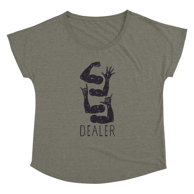 Arms Dealer Women's Dolman Scoop Neck by Rupertbeard