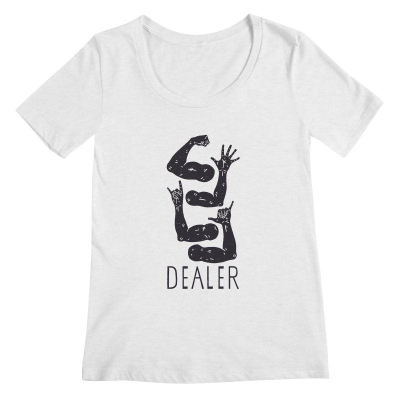 Arms Dealer Women's Regular Scoop Neck by Rupertbeard