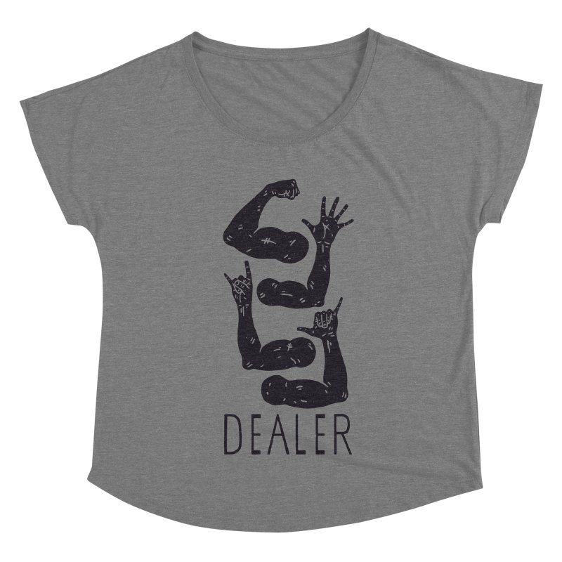 Arms Dealer Women's Dolman Scoop Neck by Rupertbeard