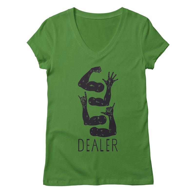 Arms Dealer Women's Regular V-Neck by Rupertbeard