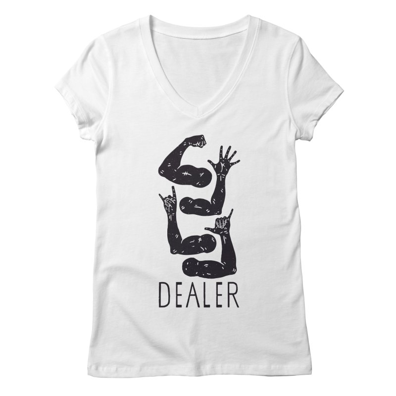 Arms Dealer Women's Regular V-Neck by Rupertbeard