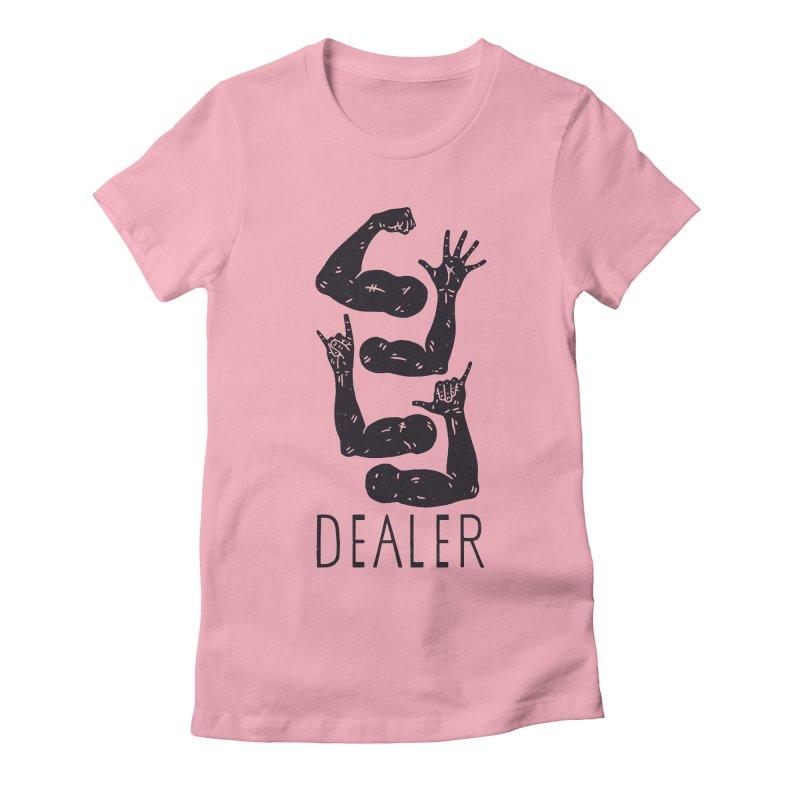 Arms Dealer Women's Fitted T-Shirt by Rupertbeard