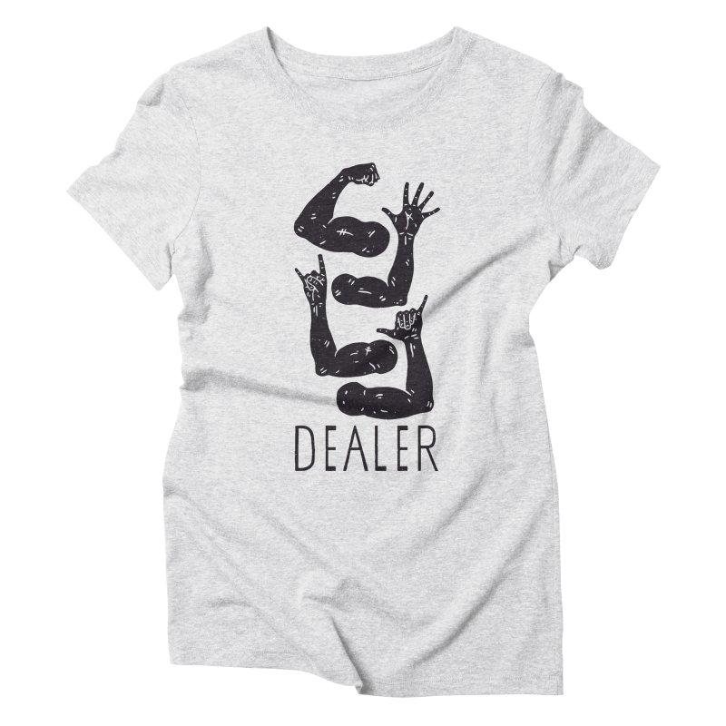 Arms Dealer Women's Triblend T-Shirt by Rupertbeard