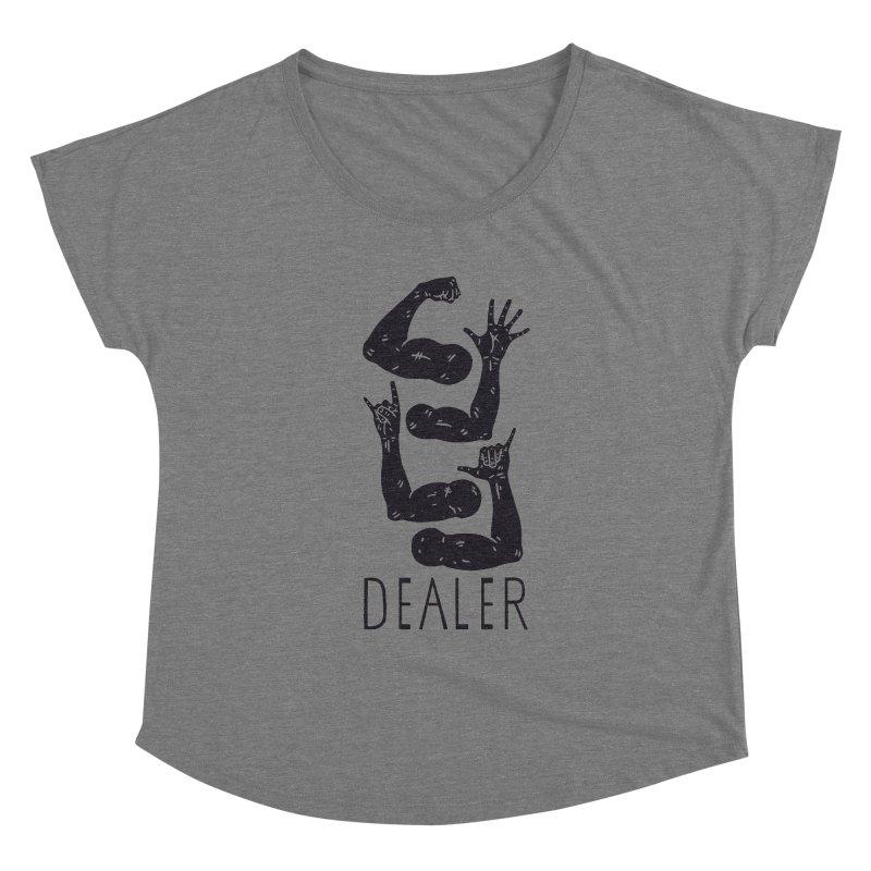Arms Dealer Women's Scoop Neck by Rupertbeard