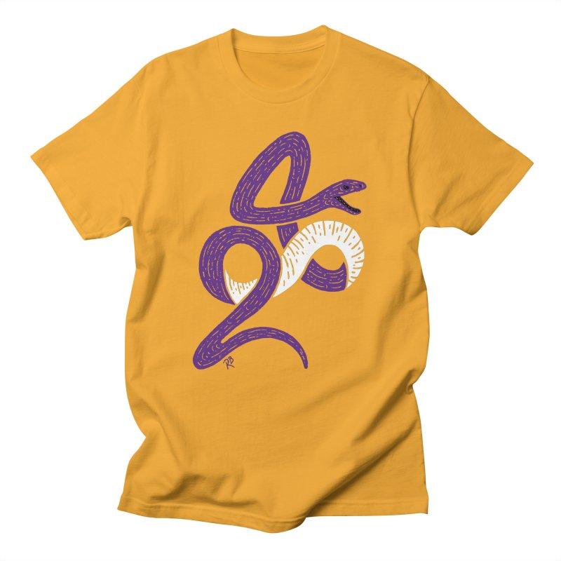 Mamba Forever Men's T-Shirt by Rupertbeard