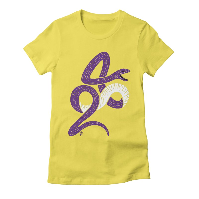 Mamba Forever Women's Fitted T-Shirt by Rupertbeard
