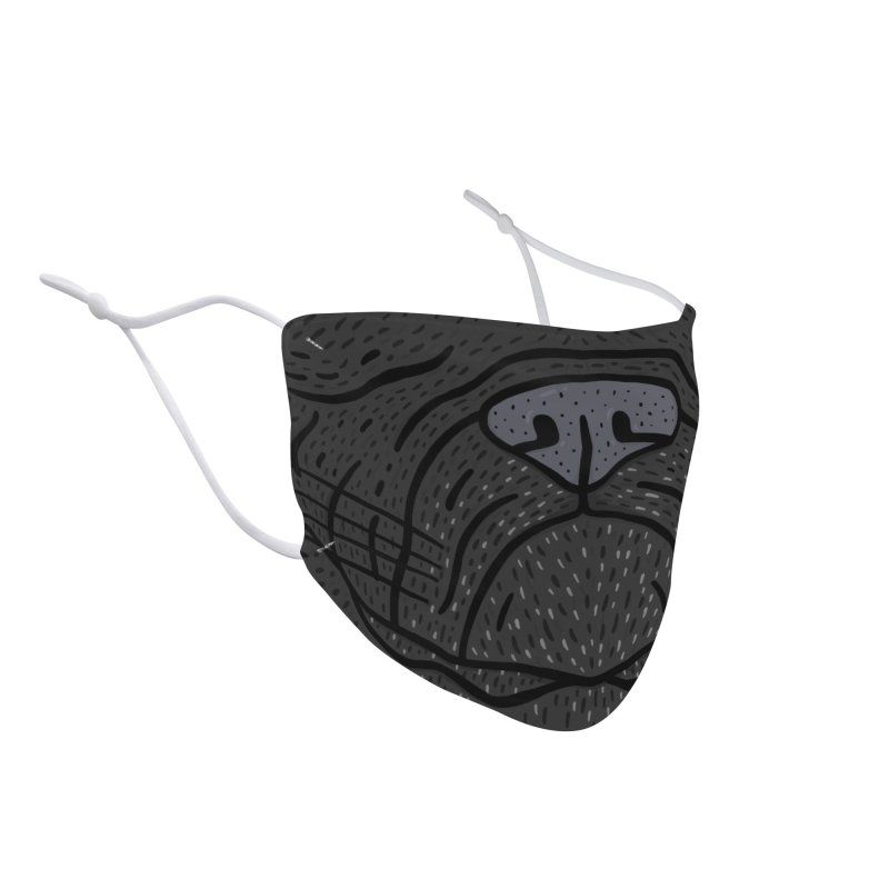 Wally The Puggle - The Mask! Accessories Face Mask by Rupertbeard