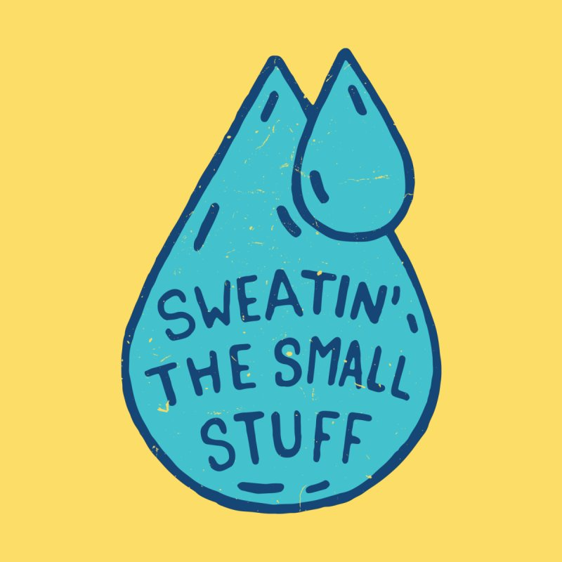 Sweatin' The Small Stuff Accessories Face Mask by Rupertbeard