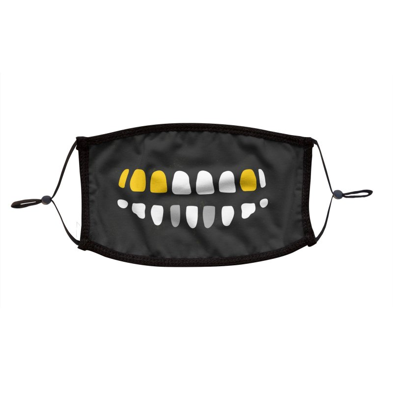 Captain Teeth. Savvy? Accessories Face Mask by Rupertbeard