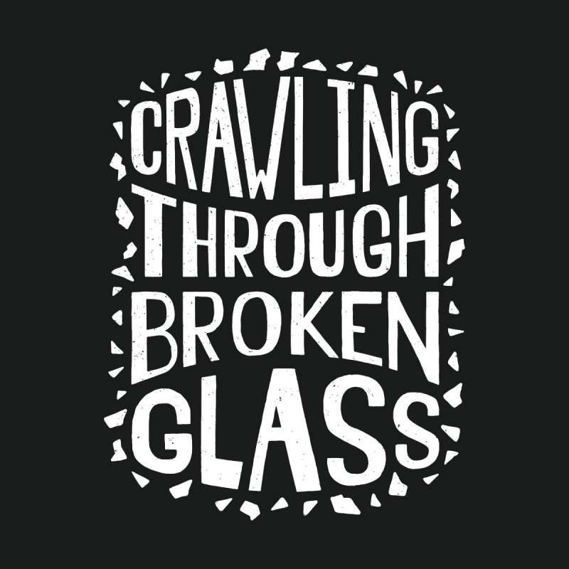 Crawling Through Broken Glass Men's Sweatshirt by Rupertbeard