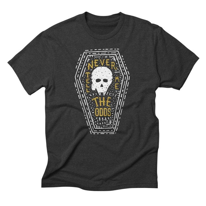 Never Tell Me The Odds Men's T-Shirt by Rupertbeard