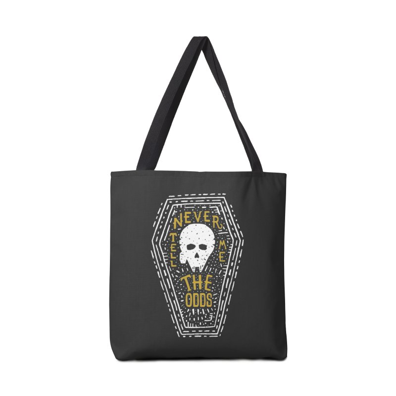 Never Tell Me The Odds Accessories Bag by Rupertbeard
