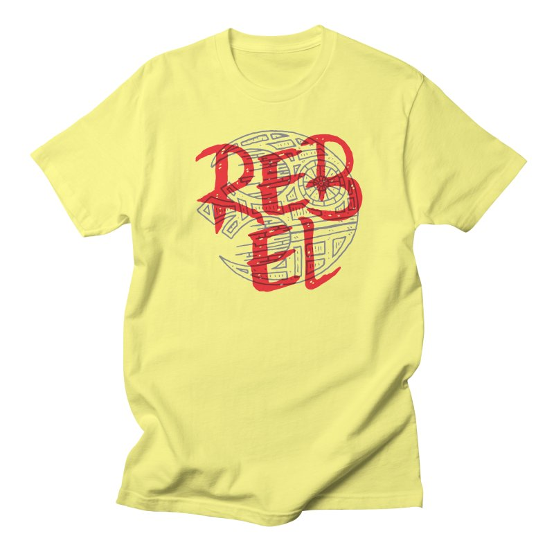 Rebel Men's T-Shirt by Rupertbeard