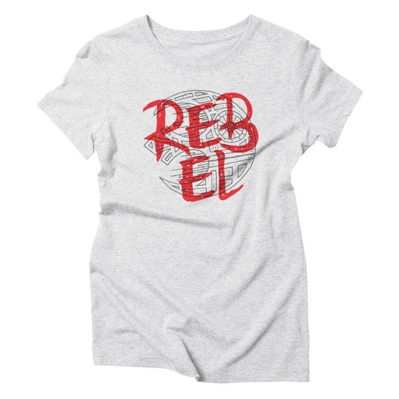 Rebel Women's Triblend T-Shirt by Rupertbeard
