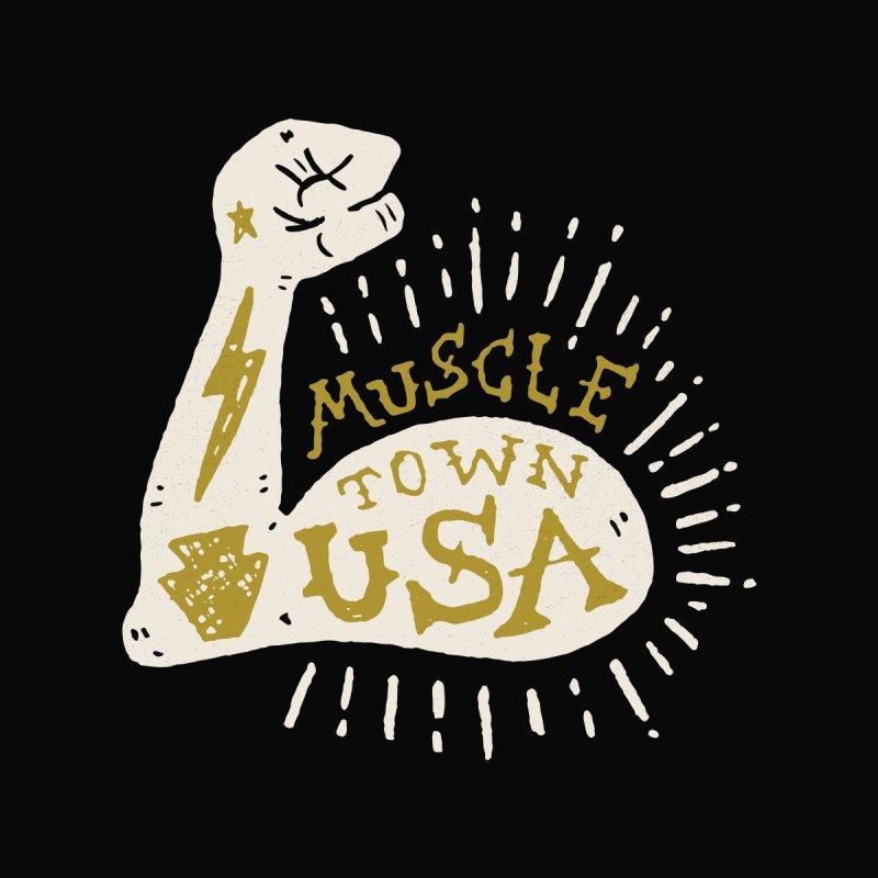 Flexin' Muscletown USA  by Rupertbeard