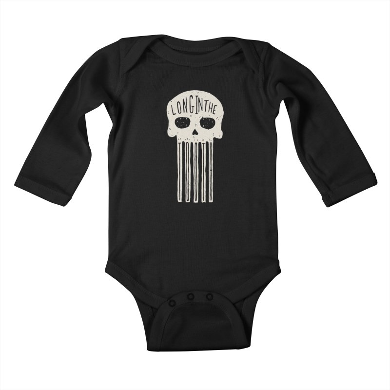 Long In The Tooth Kids Baby Longsleeve Bodysuit by Rupertbeard