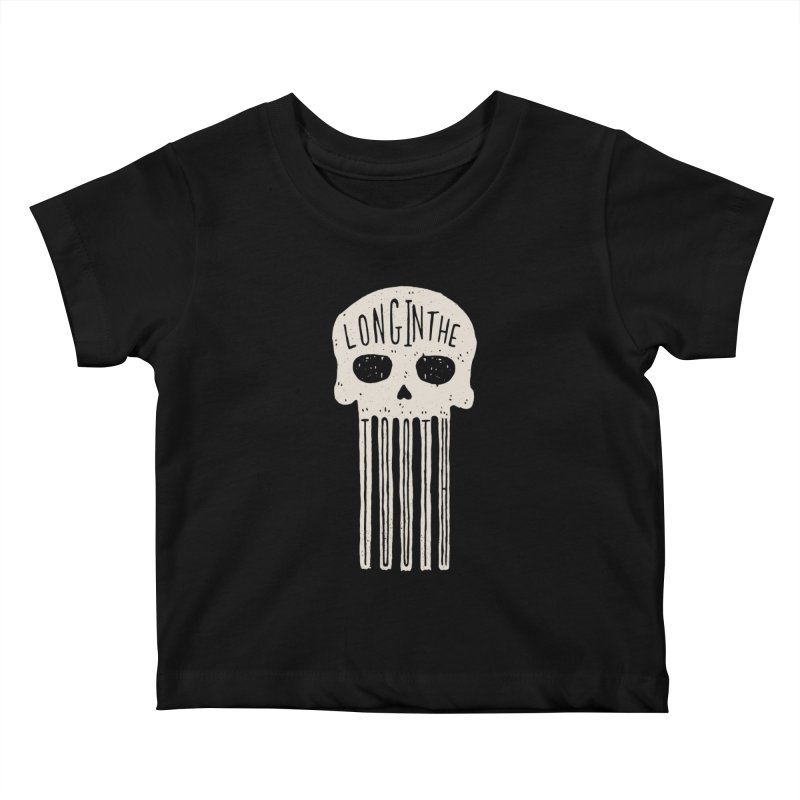 Long In The Tooth Kids Baby T-Shirt by Rupertbeard
