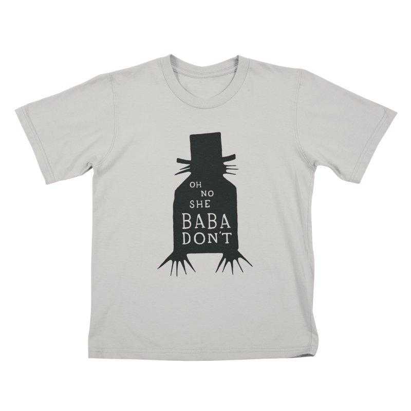 Oh No She BABADON'T Kids T-shirt by Rupertbeard
