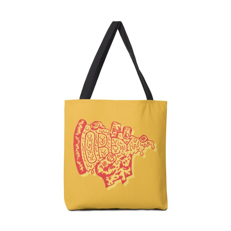 Obey The Pizza Accessories Bag by Rupertbeard