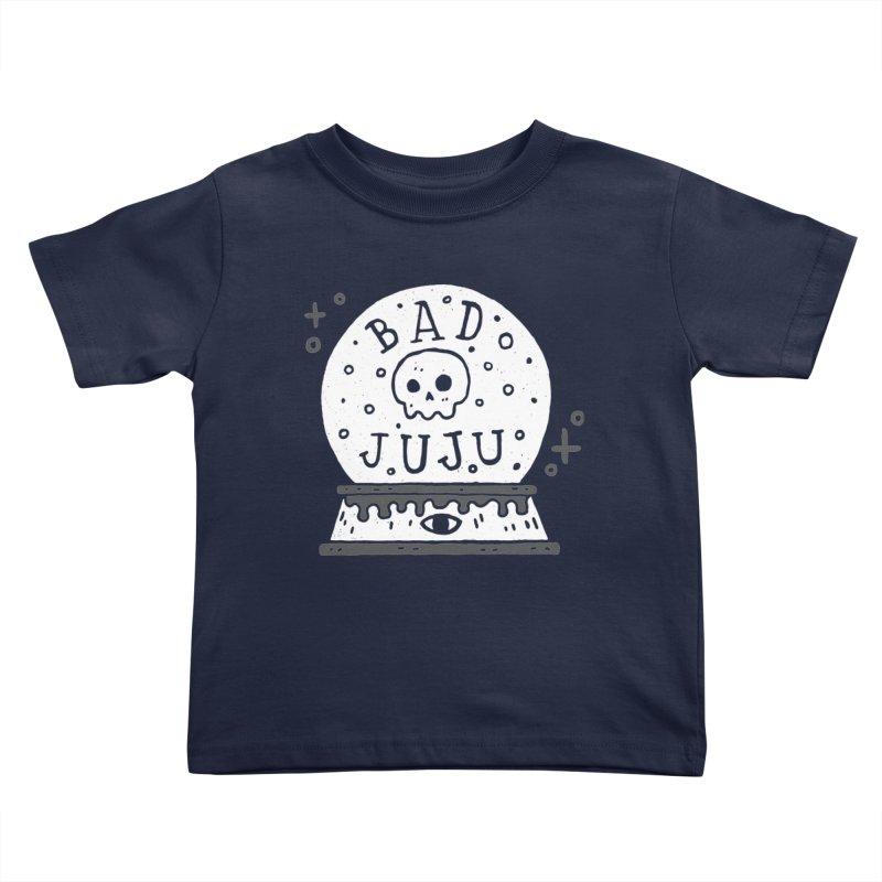 Bad Juju Kids Toddler T-Shirt by Rupertbeard