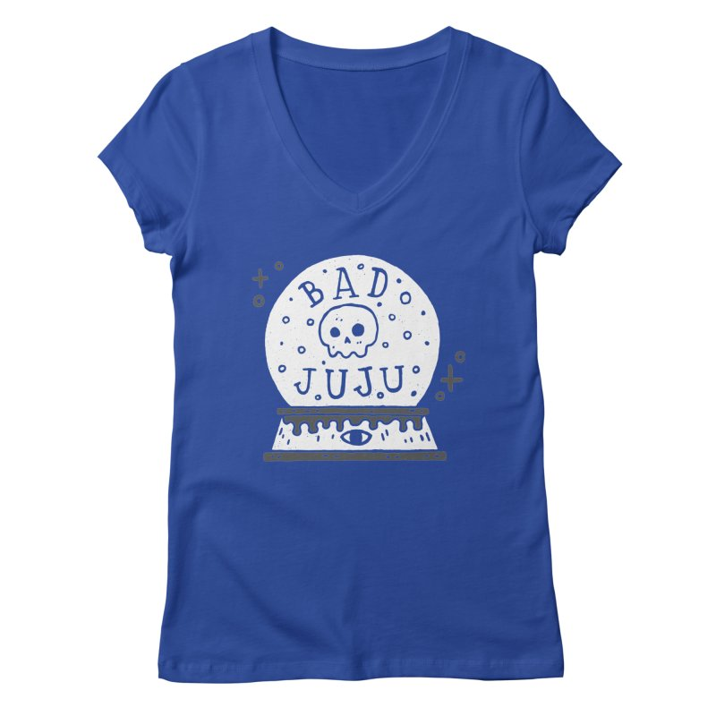Bad Juju Women's V-Neck by Rupertbeard