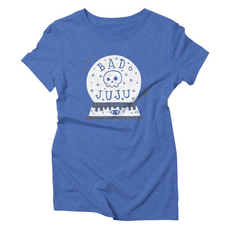 Bad Juju Women's Triblend T-shirt by Rupertbeard