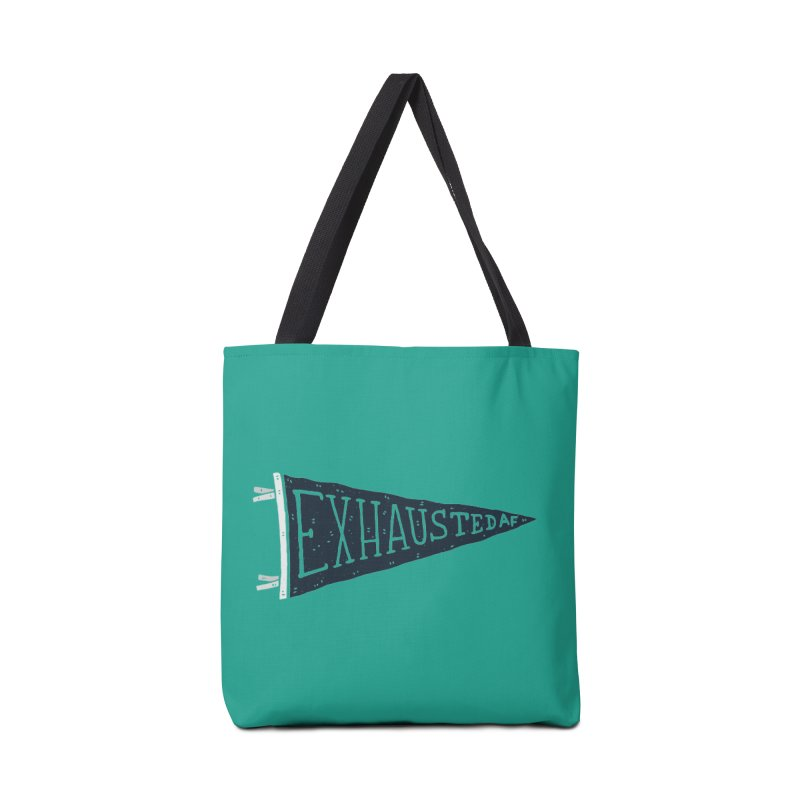 Exhausted AF Accessories Bag by Rupertbeard