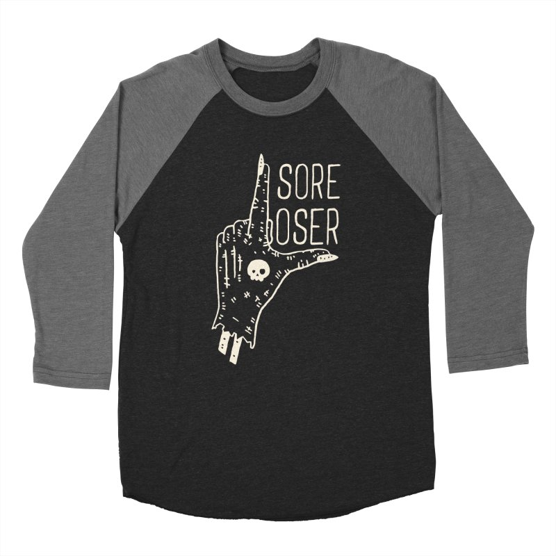 Sore Loser Women's Baseball Triblend T-Shirt by Rupertbeard