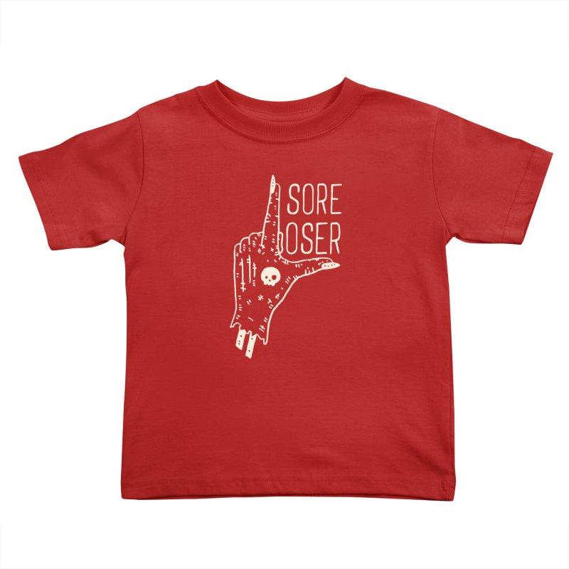 Sore Loser Kids Toddler T-Shirt by Rupertbeard