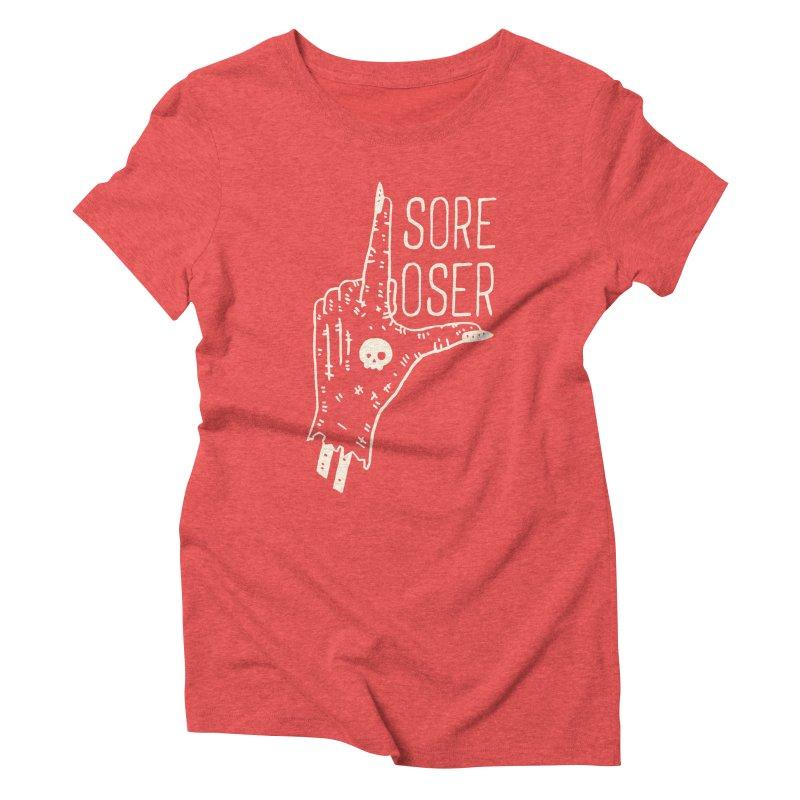 Sore Loser Women's Triblend T-shirt by Rupertbeard