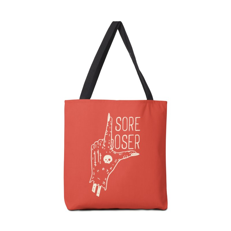 Sore Loser Accessories Bag by Rupertbeard