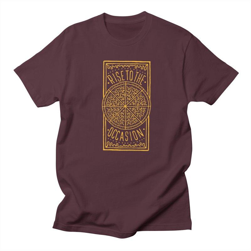 Rise To The Occasion  Men's T-shirt by Rupertbeard