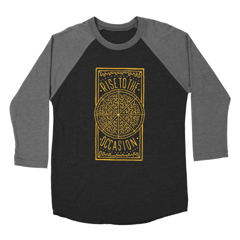 Rise To The Occasion  Men's Baseball Triblend T-Shirt by Rupertbeard