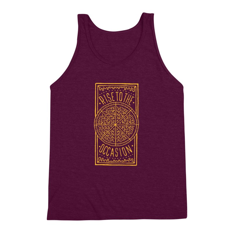 Rise To The Occasion  Men's Triblend Tank by Rupertbeard