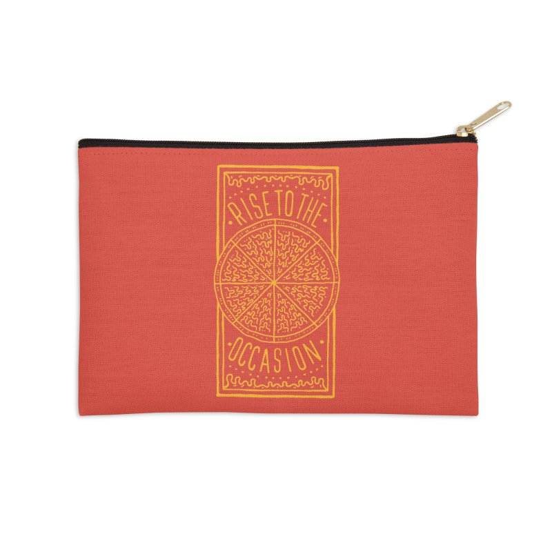 Rise To The Occasion  Accessories Zip Pouch by Rupertbeard