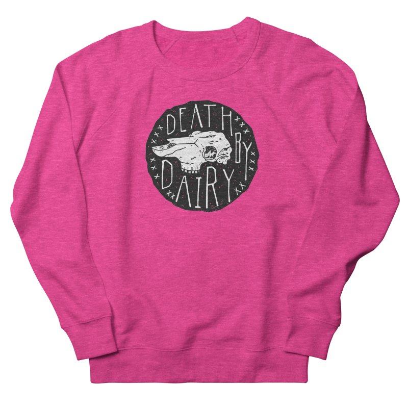 Death By Dairy  Women's Sweatshirt by Rupertbeard