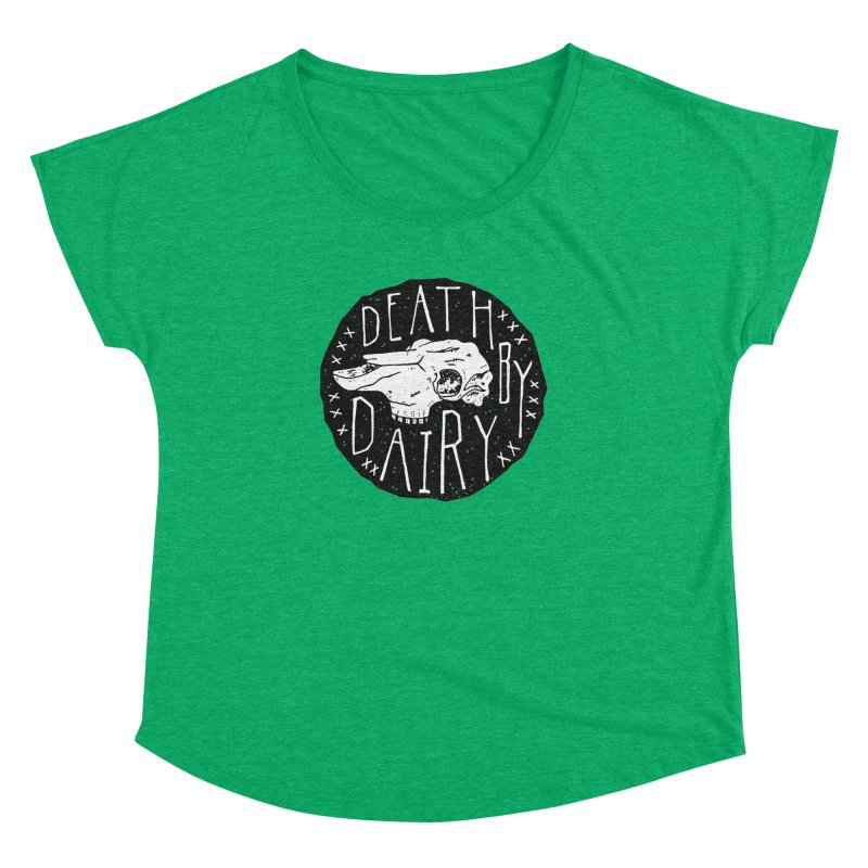 Death By Dairy  Women's Dolman by Rupertbeard