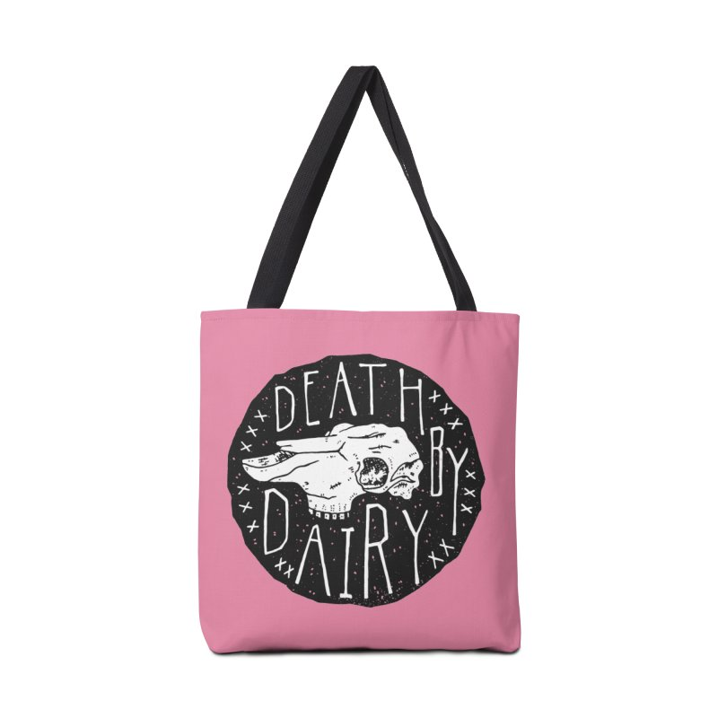 Death By Dairy  Accessories Bag by Rupertbeard